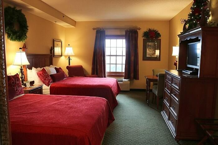 The Inn at Christmas Place, guest room, Pigeon Forge