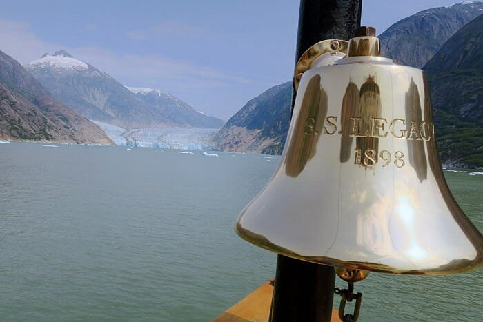 SS Legacy bell, UnCruise