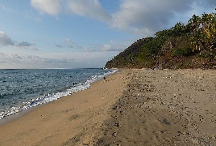 Punta Monterrey Beach north of San Pancho, Mexico