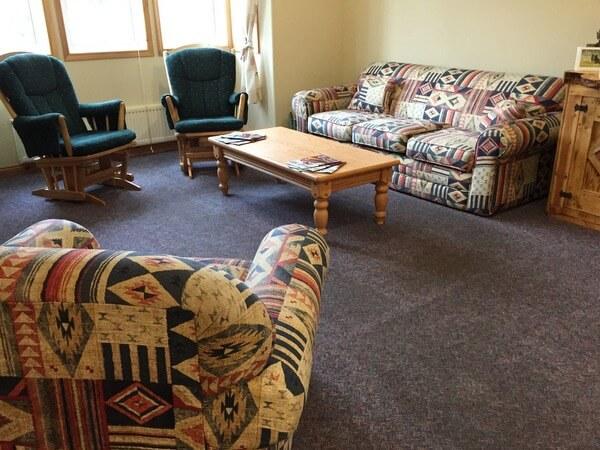 Parlor, Aurora Inn, Dawson City, Yukon Canada
