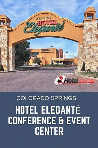 Hotel Eleganté conference event center colorado springs #hotelreview #coloradospringshotel #hotelscoop
