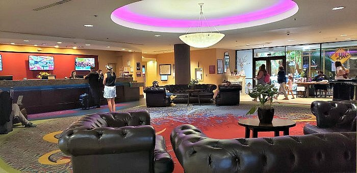 The Lobby of Hotel Elegante conference & Event Center, Colorado Springs