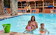 colorado Springs' Hotel Elegante offers both indoor and outdoor pools