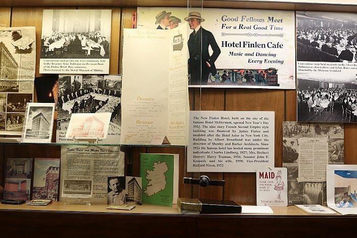 Finlen Hotel in downtown Butte is steeped in history