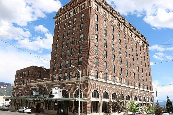 Hotel Finlen, downtown Butte, MT