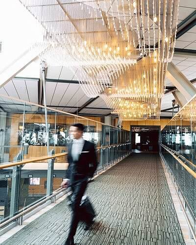 Fairmont Vancouver Airport Sky Bridge