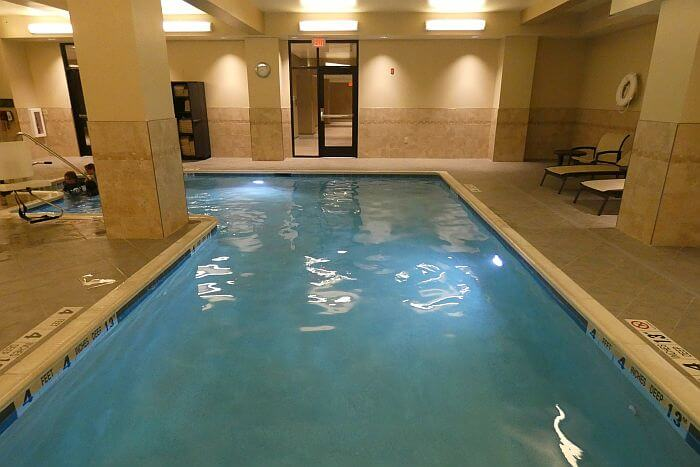 downtown Rochester hotel swimming pool