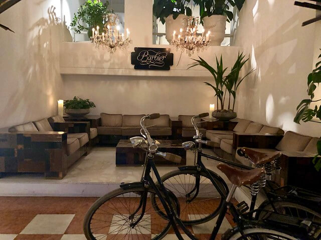 antique bikes, bikes for hotel guests