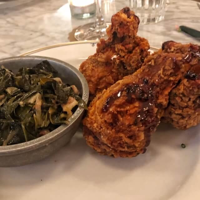 fried chicken at ben paris seattle