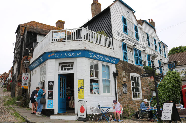 Old Borough Arms: A Gem in a 14th-Century Town, Rye, England