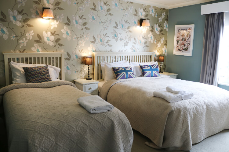 Guest room at Old Borough Arms in Rye, England