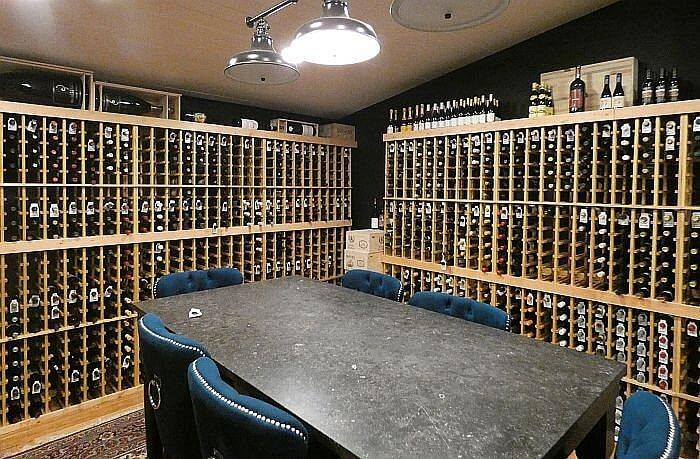 The Chico Dining Room wine tasting dinner area