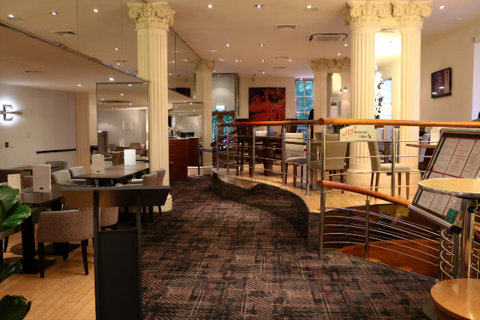 Restaurant and lounge at Corus Hotel Hyde Park, London