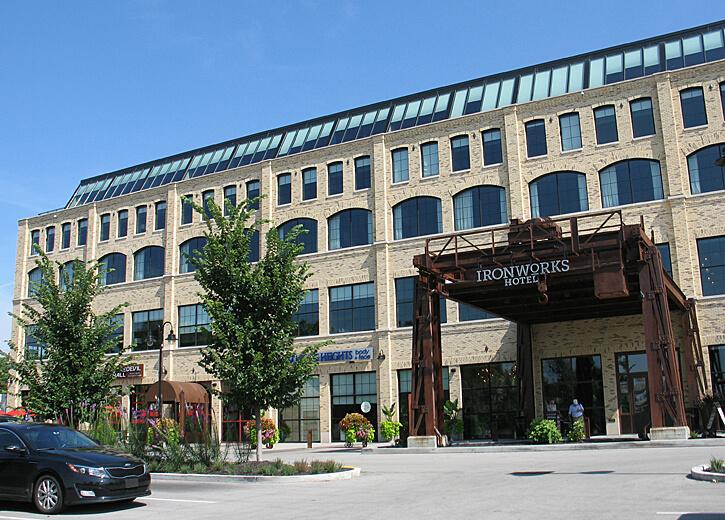 Ironworks Hotel, Indianapolis, Indiana (Photo by Susan McKee)