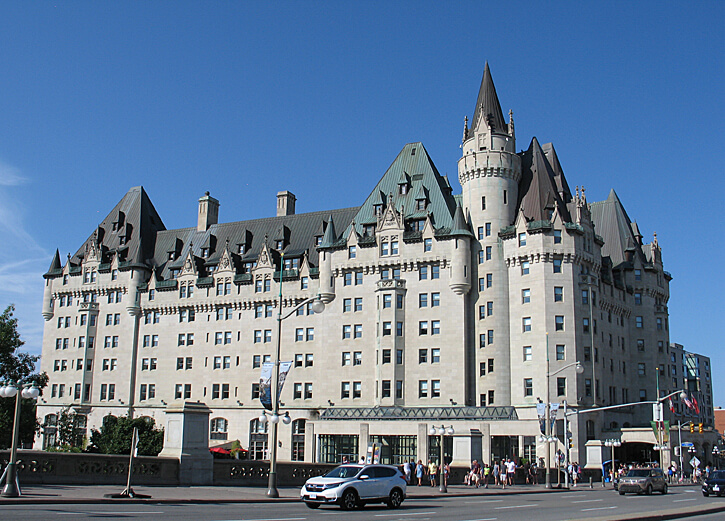 Château Laurier, Ottawa, Canada (Photo by Susan McKee)
