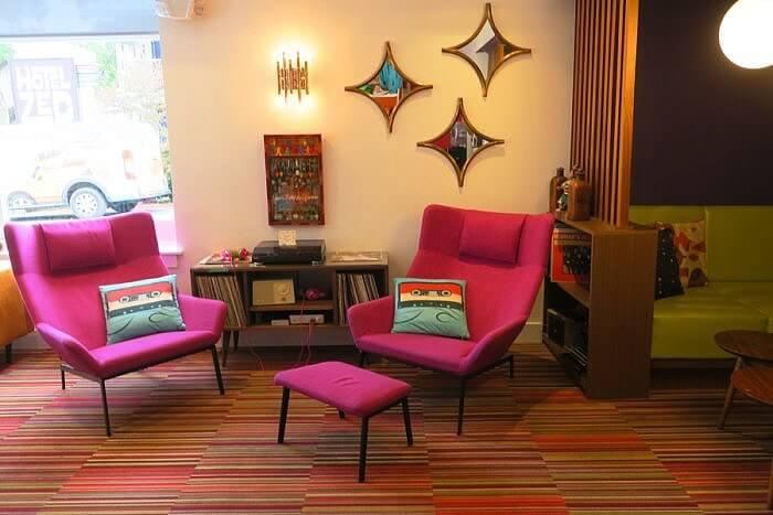 Lobby Hotel Zed