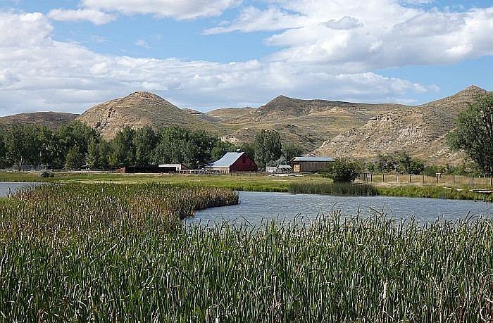 lake at the Ranch at Ucross