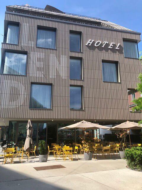 lend hotel exterior in Graz, Austria