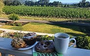 Bouchon pastries and coffee from Spring Mountain room at The Setting Inn, Napa Valley.