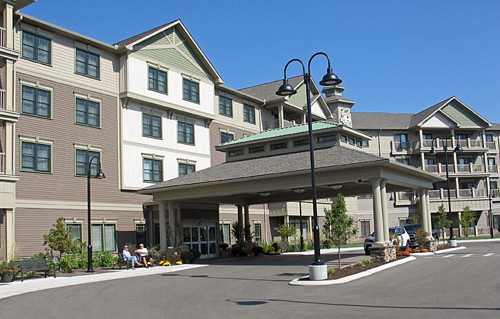 Chautauqua Harbor Hotel, Celoron, New York (Photo by Susan McKee)