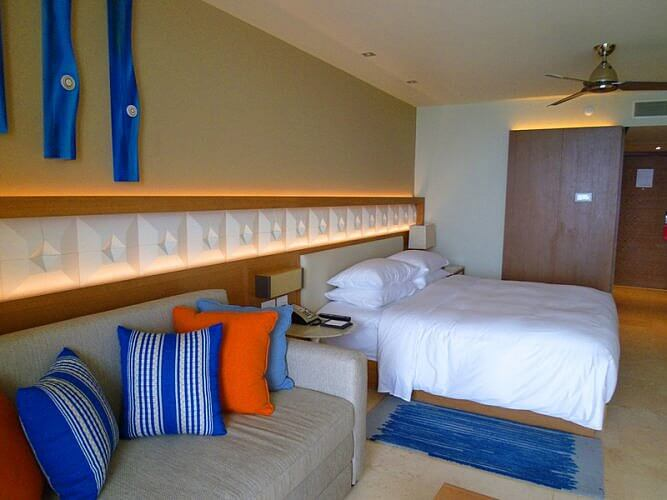 Hyatt Ziva Cancun Guest Room