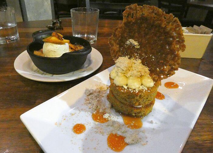 1889 Restaurant Missoula dessert