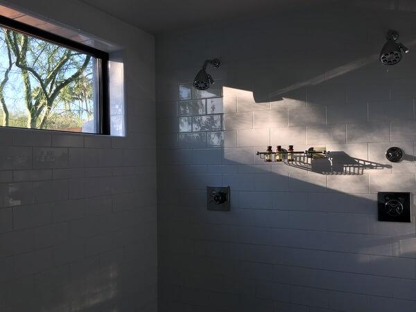 Guest shower, Andaz Scottsdale Resort, Scottsdale, Arizona