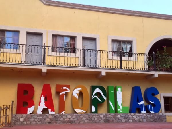 Town square, Batopilas, Chihuahua, Mexico