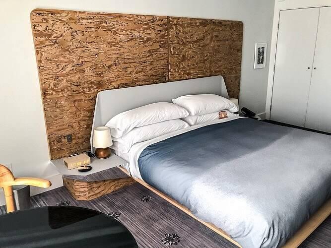 Bed at Line Hotel Austin
