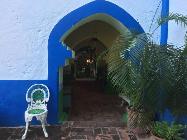 Doorway, Riverside Lodge, Batopilas, Chihuahua, Mexico