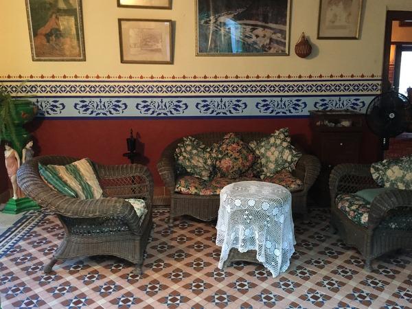Salon, Riverside Lodge, Batopilas, Chihuahua, Mexico