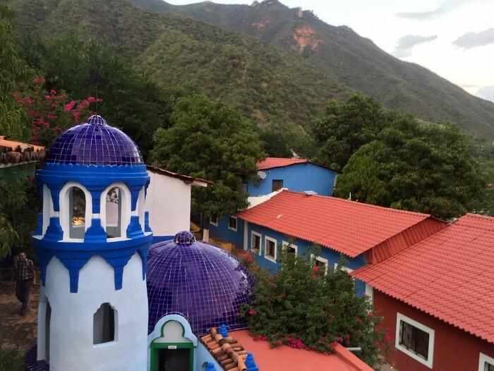 Views, Riverside Lodge, Batopilas, Chihuahua, Mexico