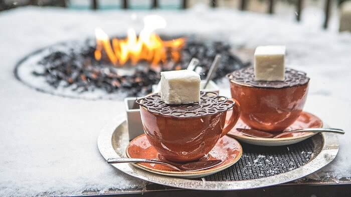 haute hot chocolate in Vail