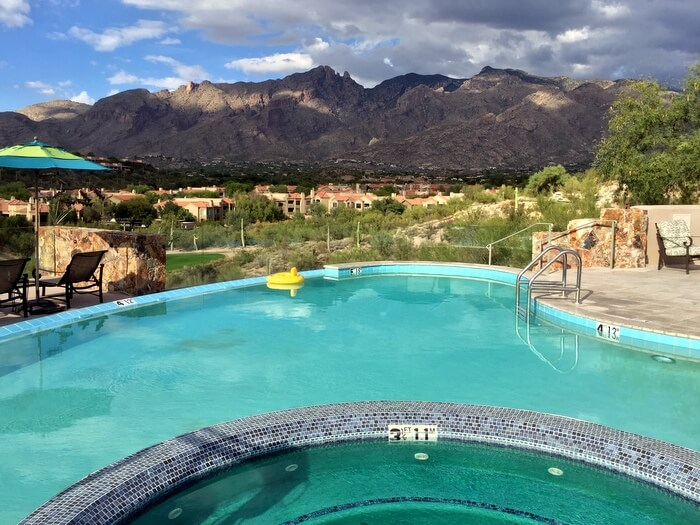 Pool, Hacienda del Sol, Tucson, Arizona