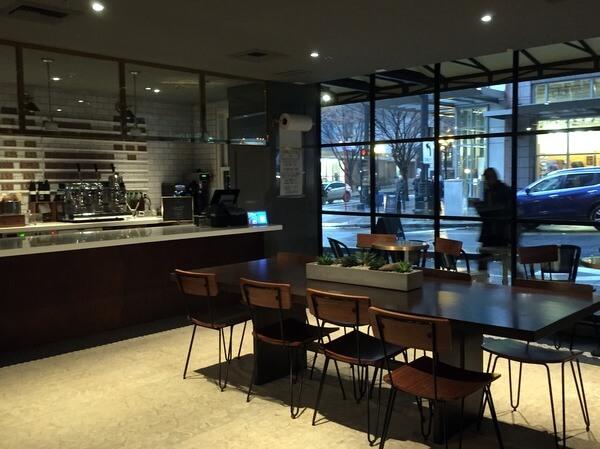 Lobby cafe, Hotel Theodore, Seattle, Washington
