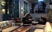 Lobby, Hotel Theodore, Seattle, Washington