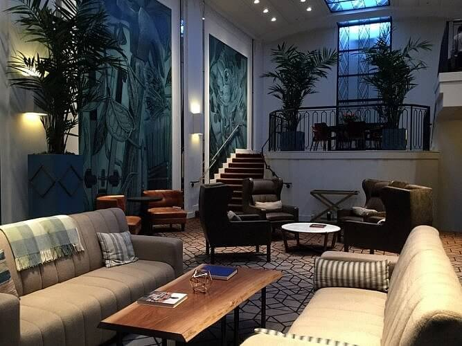 Lobby, Hotel Theodore, Seattle, Washington