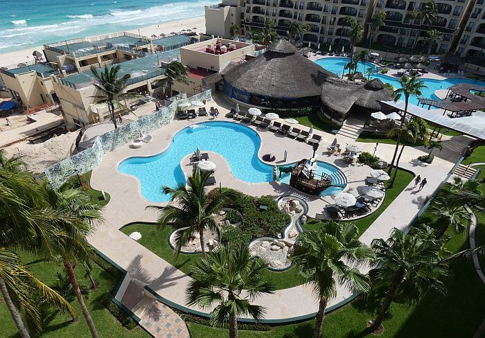 Emporio Cancun Resort view