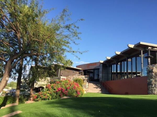 Main building, Sanctuary Camelback Mountain Resort, Scottsdale, Arizona