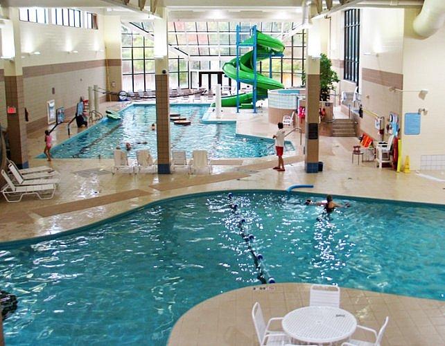 Water Park, Grand Traverse Spa and Resort, Michigan (Photo by Susan McKee)