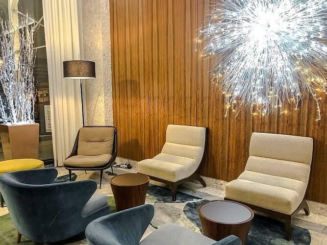 Lobby at Park Terrace Hotel in Manhattan