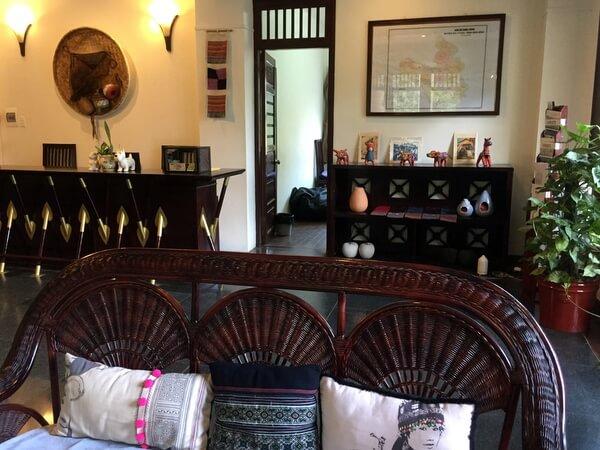 Lobby, Mai Chau Lodge, Vietnam