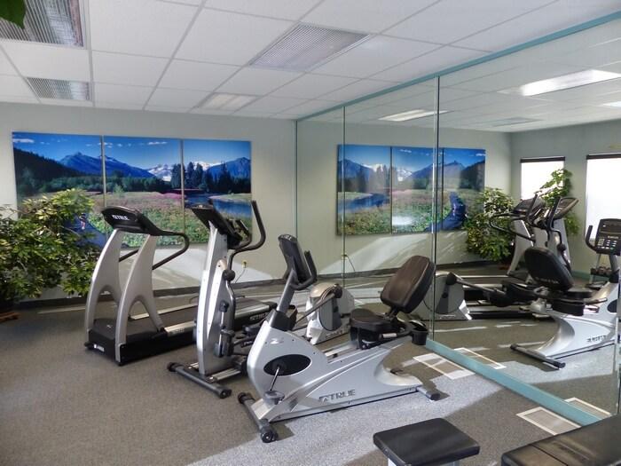 Fitness Center at Sophie Station Suites