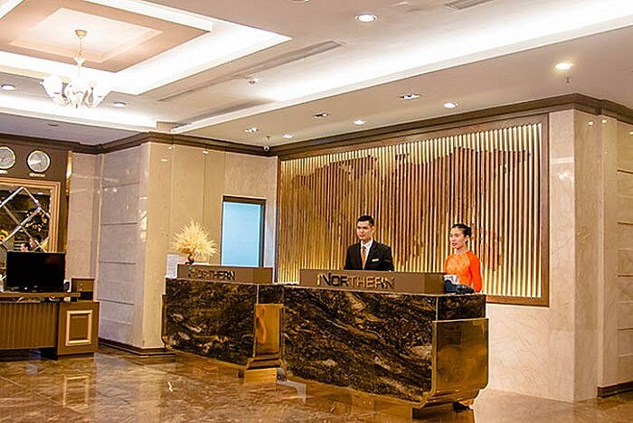 Lobby, Northern Saigon Hotel, Ho Chi Minh City, Vietnam (Photo courtesy of hotel)