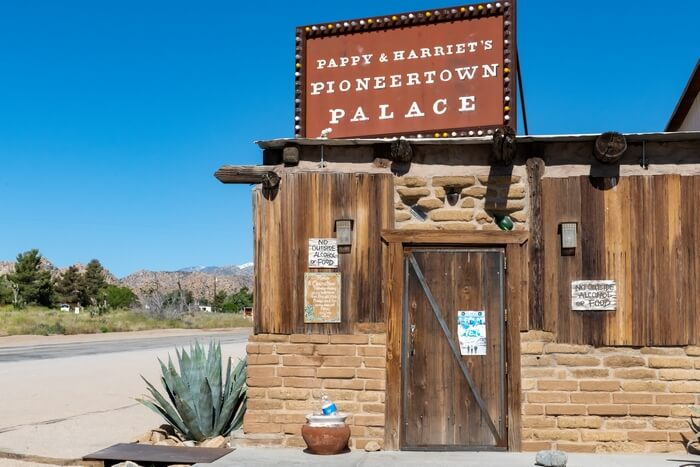 Pappy & Harriet's Pioneertown Palace is home to a thriving musical scene