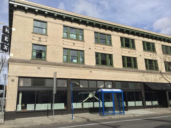 Exterior, KEX Portland, Oregon