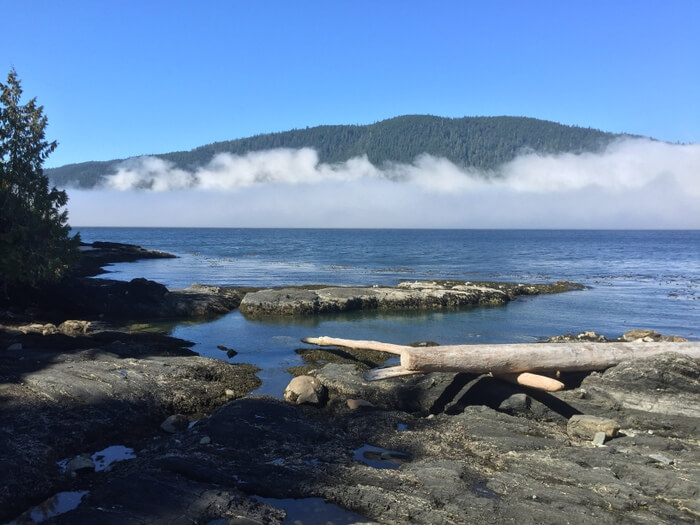 Port Renfrew waterfront