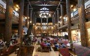 The Historic Glacier Park Lodge in Montana