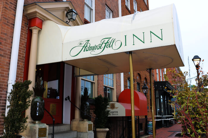 Admiral Fell Inn, Baltimore
