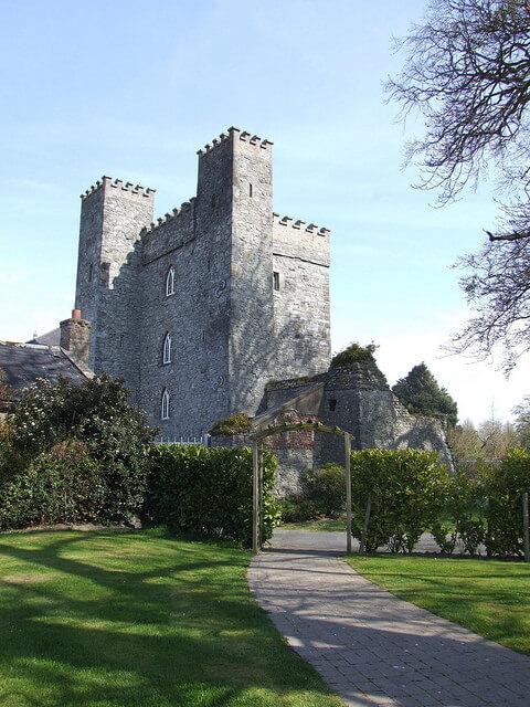 Exterior Castle Keep, Barberstown Castle, Ireland